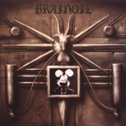 Brainoil - S/T LP (Bone color vinyl)