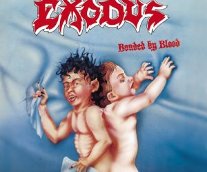 Exodus - Bonded By Blood LP (splatter vinyl)