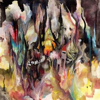 """Forn / Yautja - split 7"""" EP (black vinyl)"""