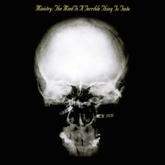 Ministry - Mind Is  Terrible Thing to Taste LP (gold vinyl)
