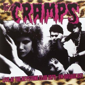 Cramps - Live At The Keystone Club 1979 FM Broadcast LP