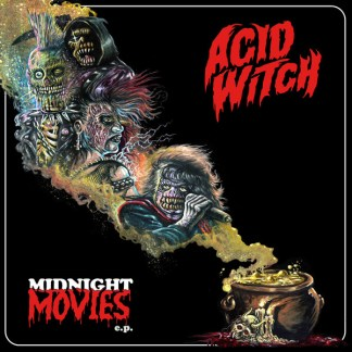 Acid Witch - Midnight Movies LP (red/gold color vinyl)