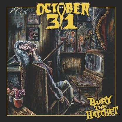 October 31 - Bury The Hatchet LP (German Flag color vinyl)