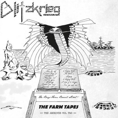 Blitzkrieg - The Boys From Brazil/Farm Tapes 2LP (silver vinyl)