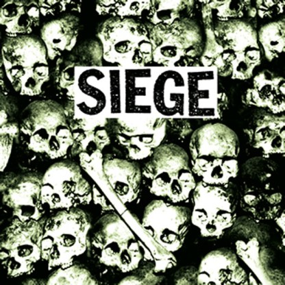 Siege - Drop Dead GREEN Vinyl LP w/ BONUS TRACKS