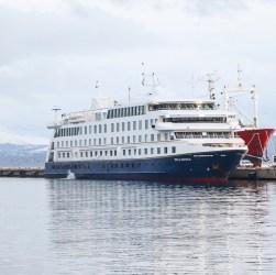 Primer crucero temporada 2019 2020 que arribó a Ushuaia