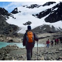 Glaciar Vinciguerra trekking en Ushuaia