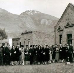 Primeros colonos galeses que llegaron a la región patagónica.