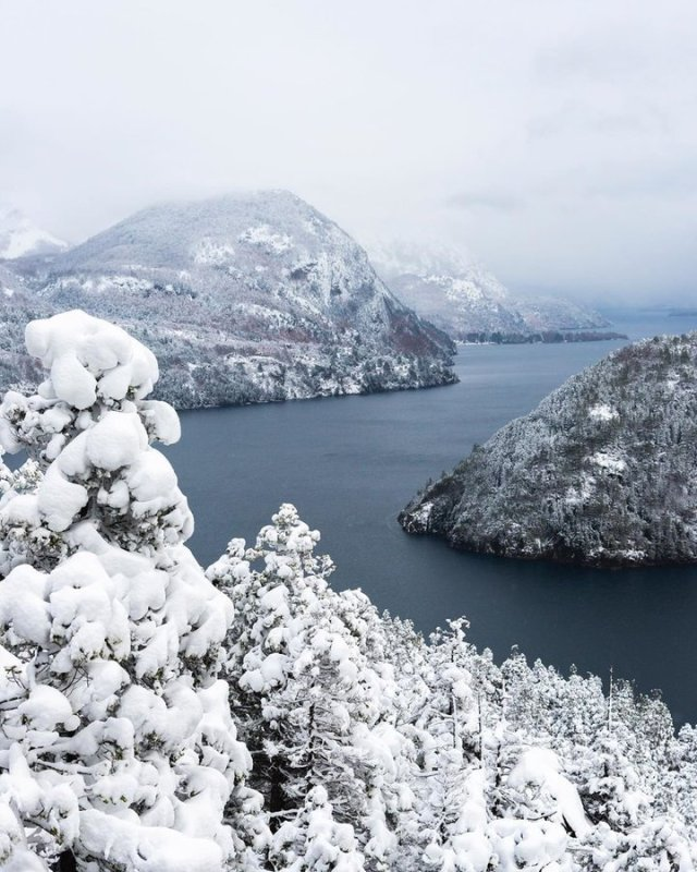 Rutas Patagonia: San Martín de los Andes con nieve