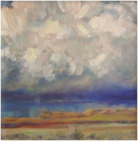 """Afternoon Storm""  OIL 12"" X 12""  SOLD"