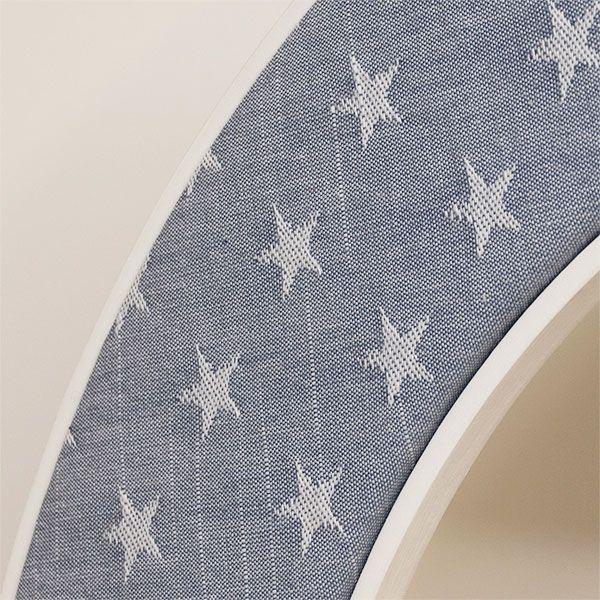 Ella Blue Fabric with Stars