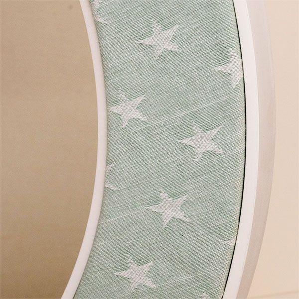 The Ella Seafoam Fabric with Stars