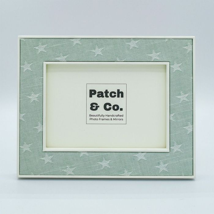 The Ella Seafoam Stars Photo Frame
