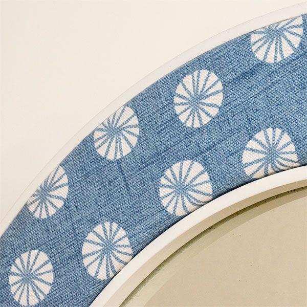 Close up of the Octavia Mirror Fabric