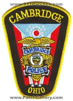 Ohio - Cambridge Police (Ohio) - PatchGallery.com Online ...