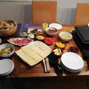Raclette im März