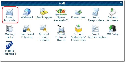 How To Setup A Self-Hosted Email Address Via CPanel