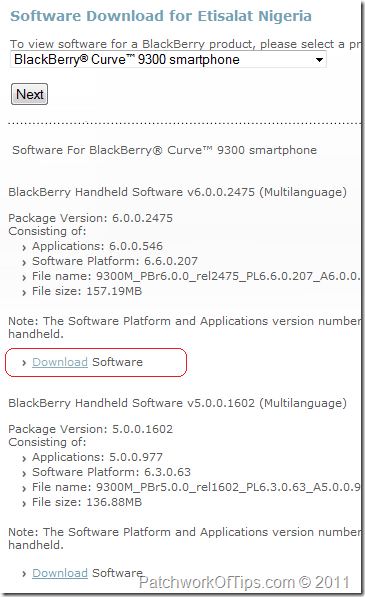 Download BlackBerry OS 6 0 For All Mobile Networks - Tech Tutorials