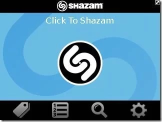 Detect Artistes Of Unknown Songs With Shazam Encore BlackBerry Application