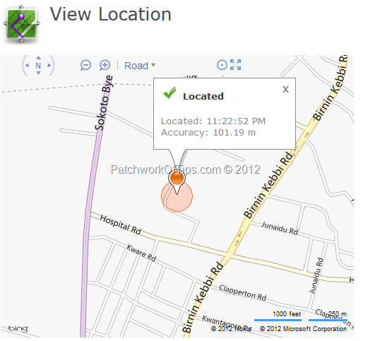 BlackBerry Protect Device Location