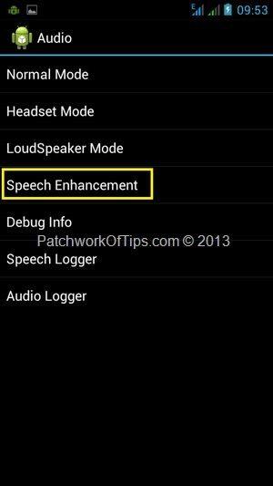 Android Engineer Mode Menu