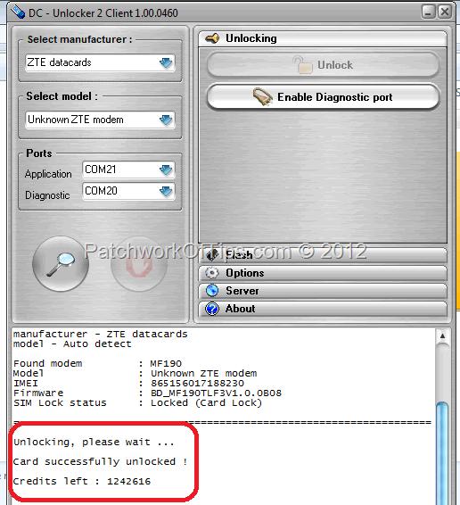 ✨ Unlock code for zte mf190 modem online   Unlock Modem ZTE MF190