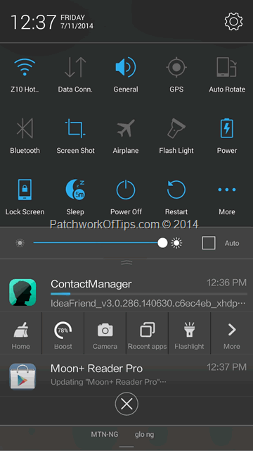 Introducing Lenovo Vibe UI 2 0 For P780 Installation, Screenshots