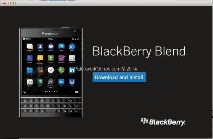 BlackBerry Blend