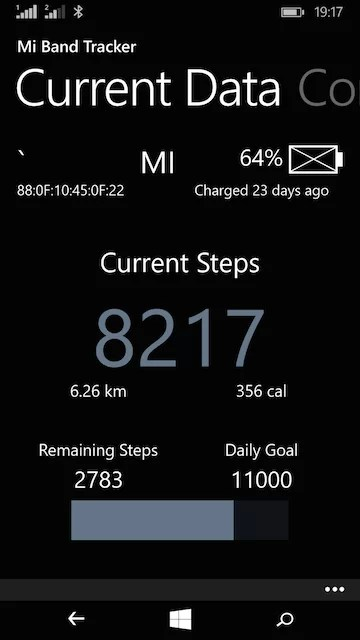 Mi Band For Windows Phone Setup