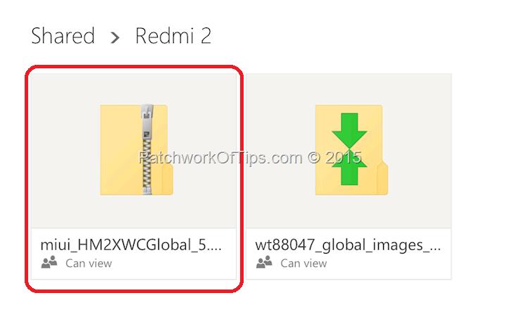 MIUI 7 for Xiaomi Redmi 2 Prime