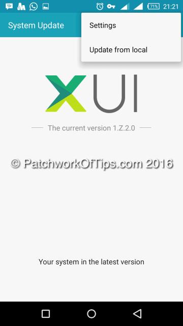 Infinix Zero 3 February 2016 Update 2