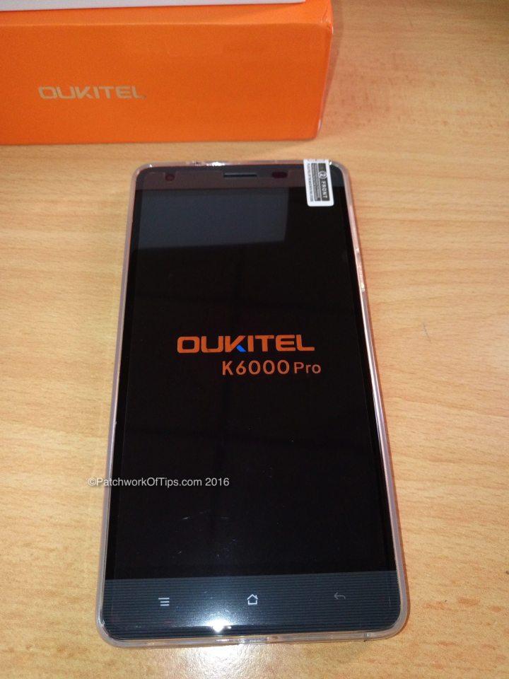 Oukitel K6000 Pro Front