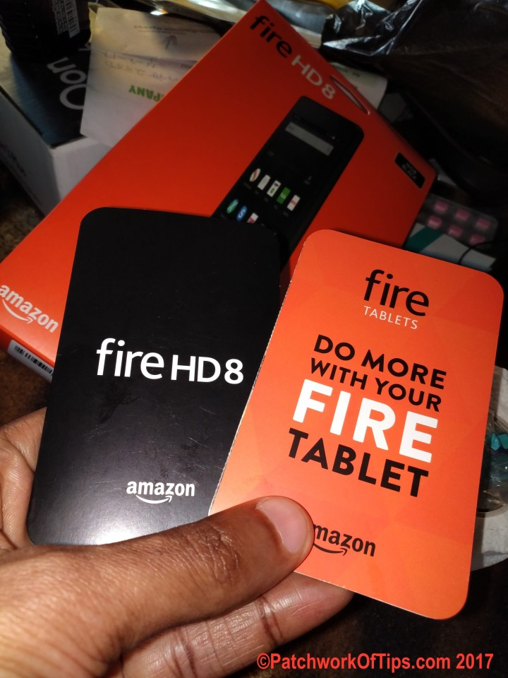 Amazon Fire HD 8 Manual