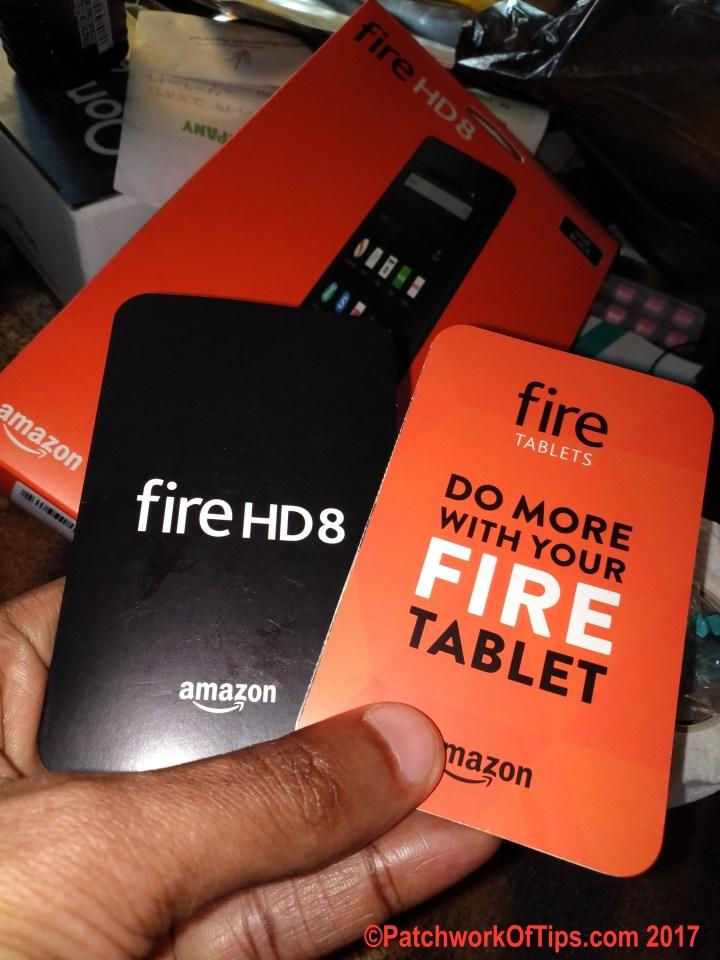 Amazon Fire HD 8 Manual
