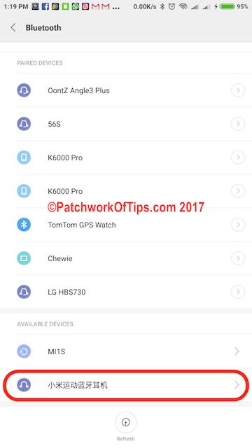 Xiaomi Mi Sports Bluetooth Headset Setup 1