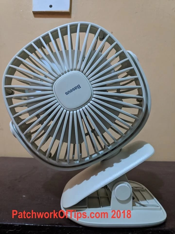 BaseUS ZW-2816 Desktop USB Fan Front