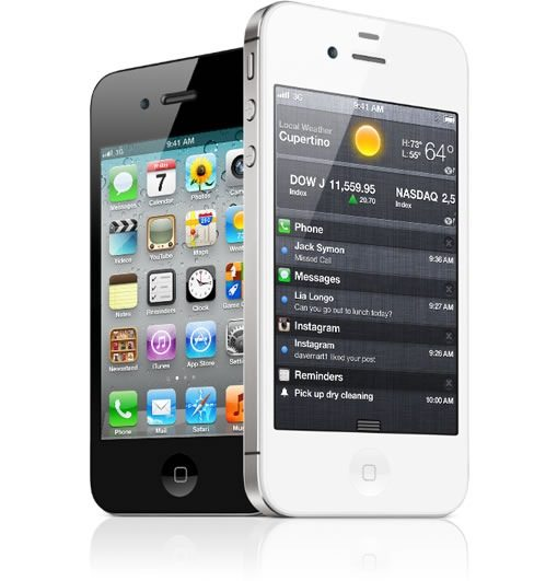 Buy Unlocked No-Contract iPhone 4S Smartphone Online For