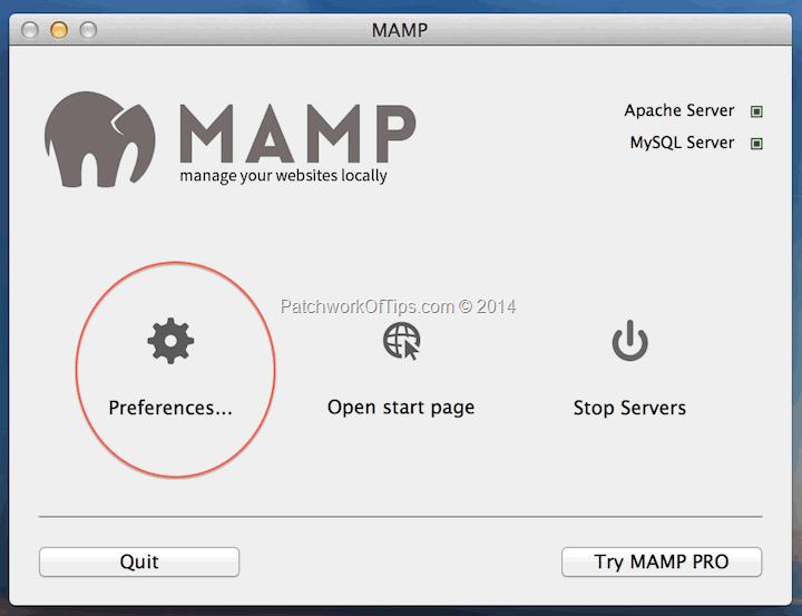 Fix MAMP Apache MySQL Server Not Starting On Mac OS X