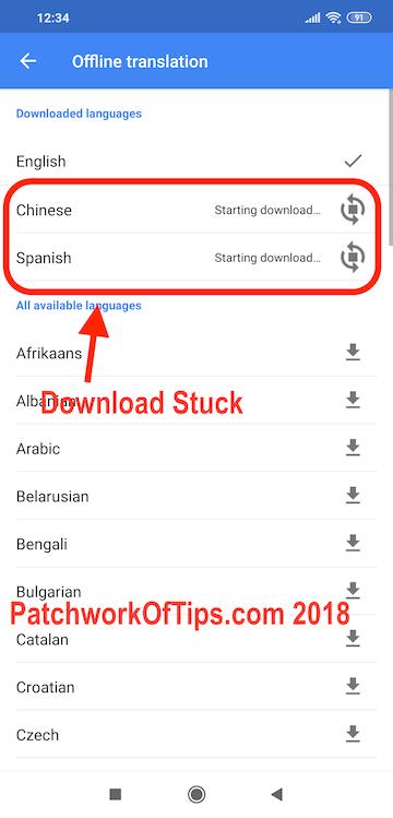 How To Fix Google Translate Offline Files Not Downloading - Tech