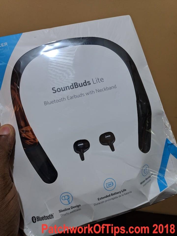 Anker SoundBuds Lite Neckband Bluetooth Earbuds Review