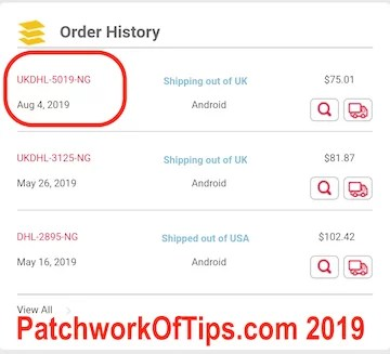 DHL Africa eShop Tracking 1