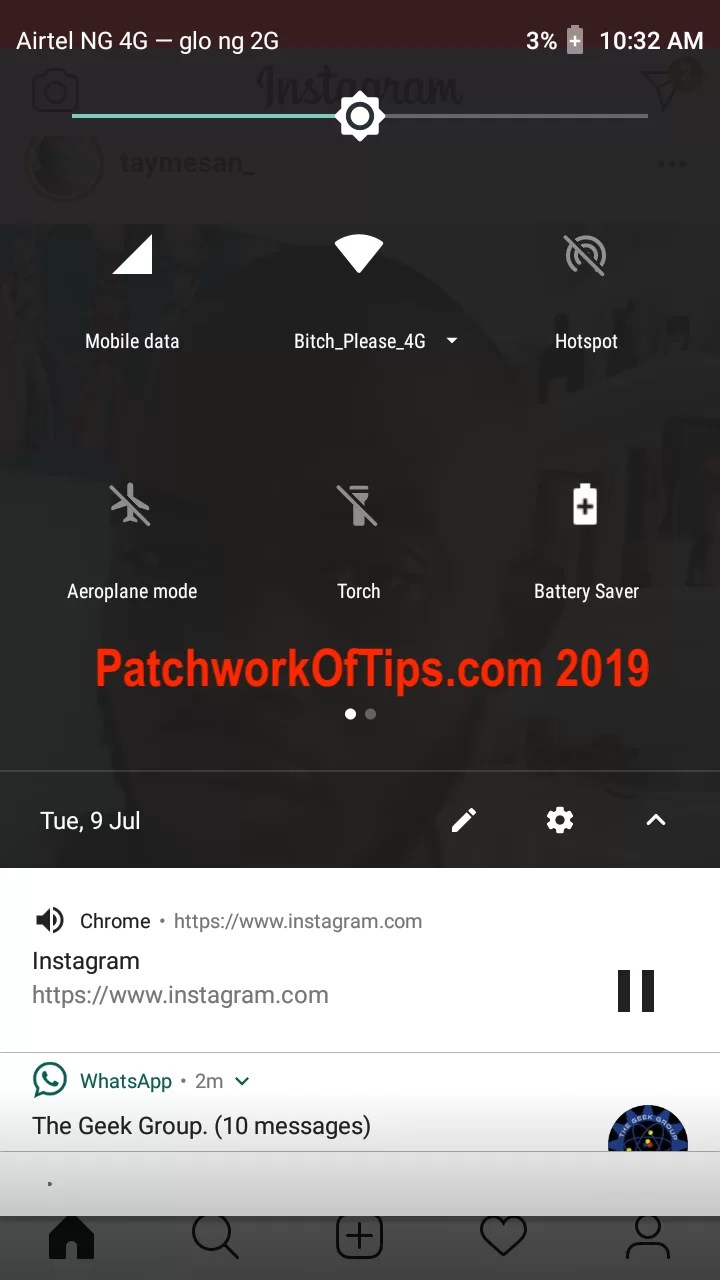 Xiaomi Redmi Go Screenshots Notification Drawer