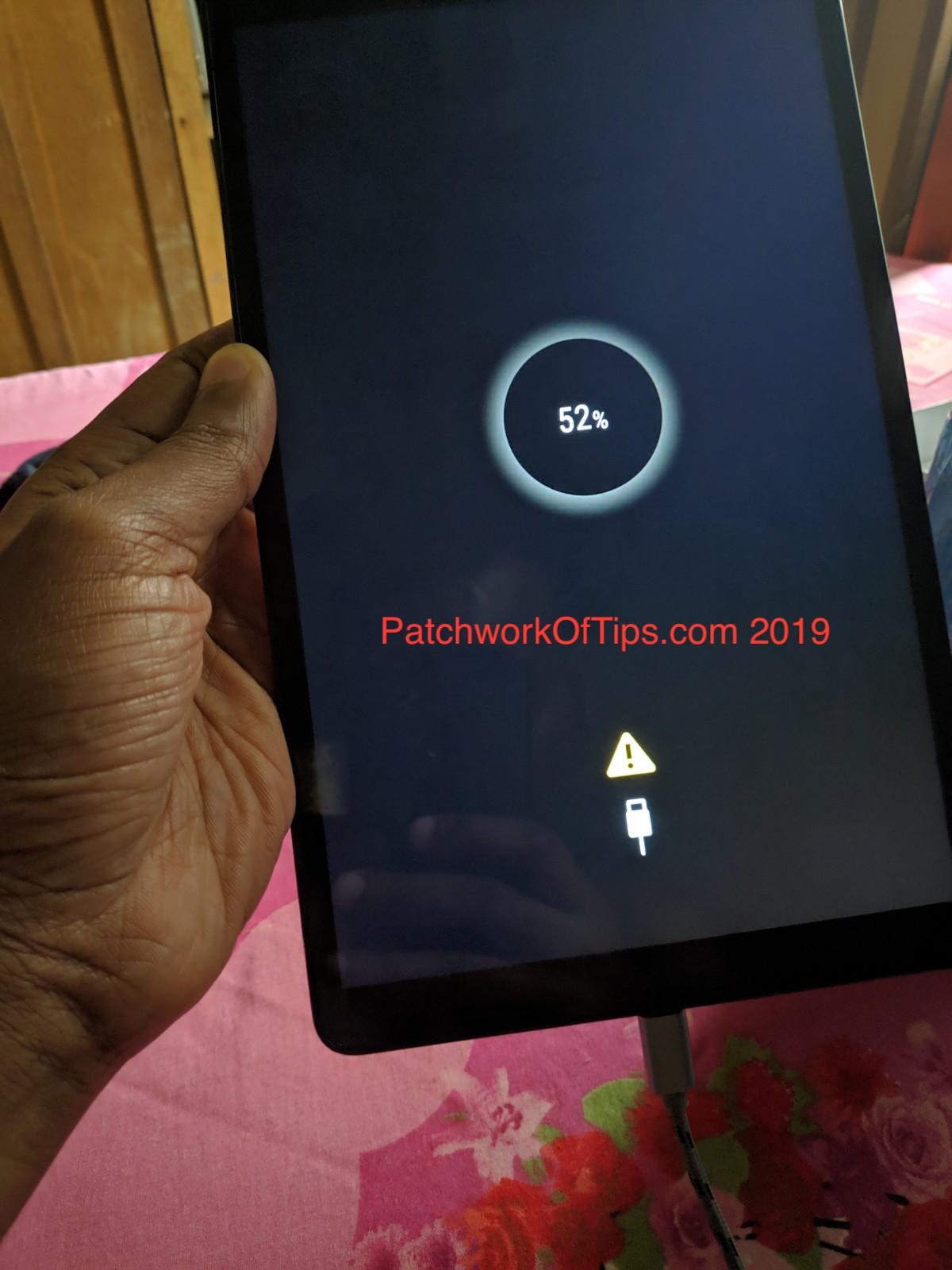 Samsung Galaxy Tab A 10.1 21019 Bad Wall Adapter Charging Cable