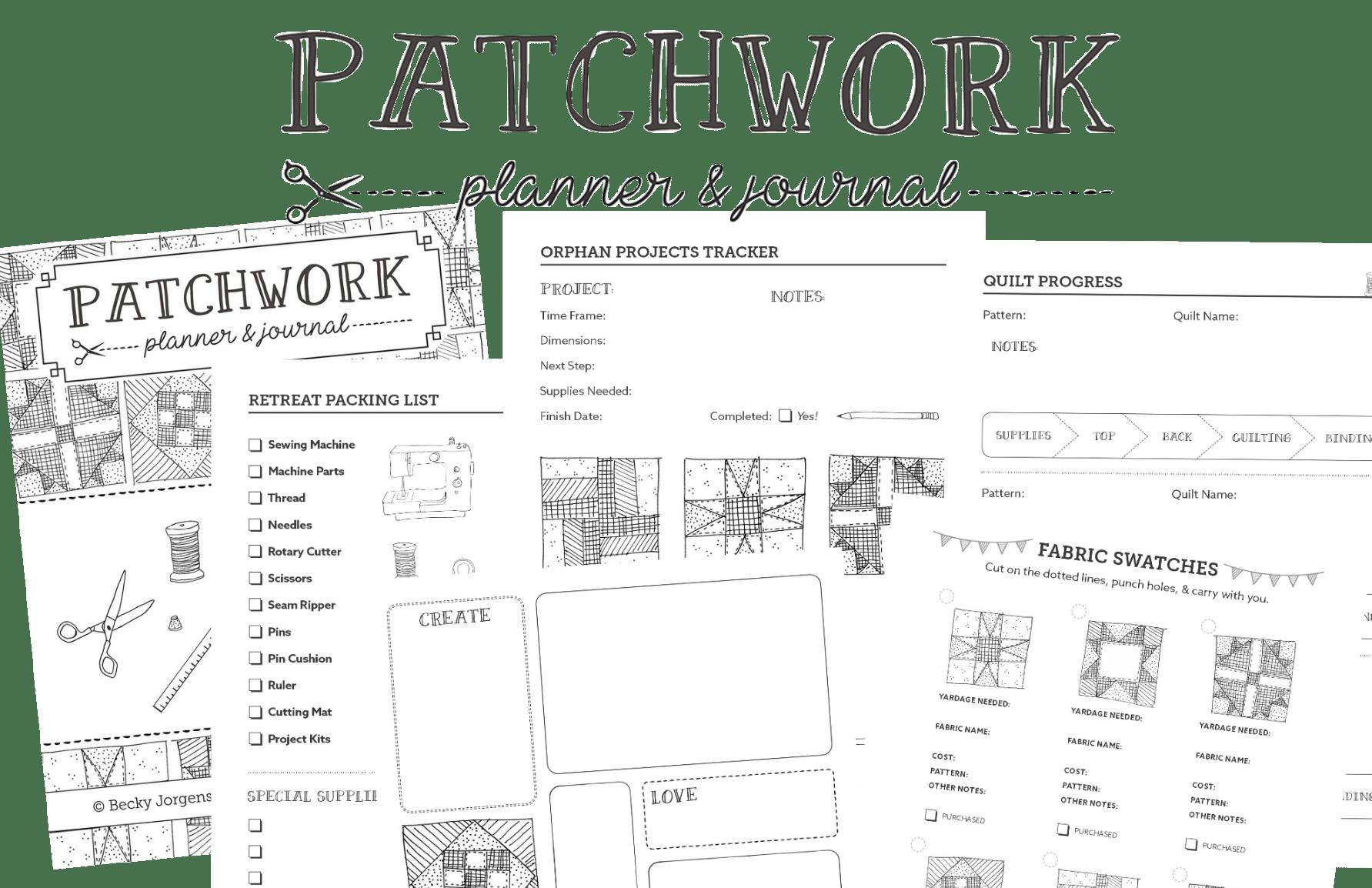 Patchwork Planner Amp Journal
