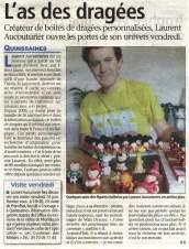 Article La Semaine de l'Allier Montluçon Pâte et Tics artisan d'art