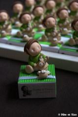 Boîtes à dragées enfants et leurs doudous