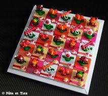 Boîtes à dragées libellules, abeilles, papillons et coccinelles thème insectes