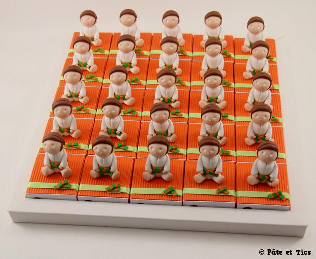 Boîtes à dragées judokas