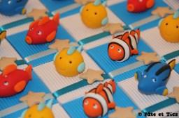 Boîtes à dragées poissons