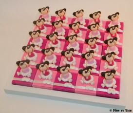 Boîtes à dragées danseuses ballerines